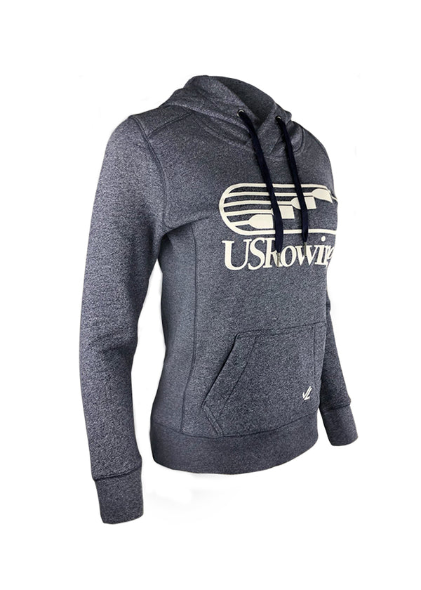 USRowing Women's Hoodie Heather Navy