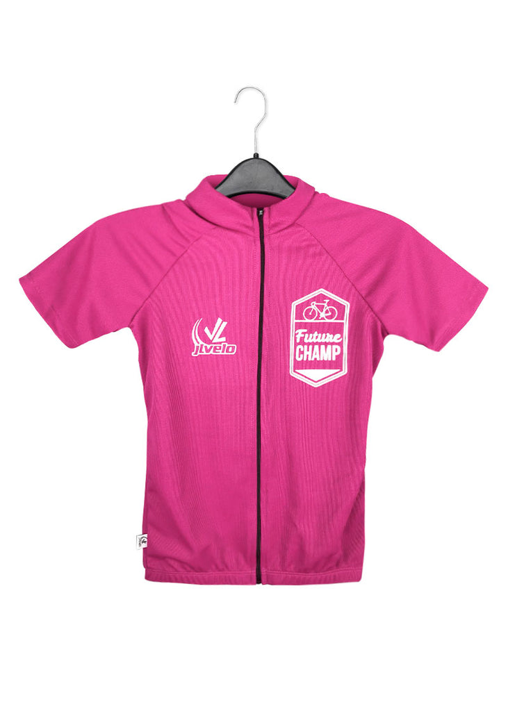 Kid's Future Champ Jersey Hot Pink