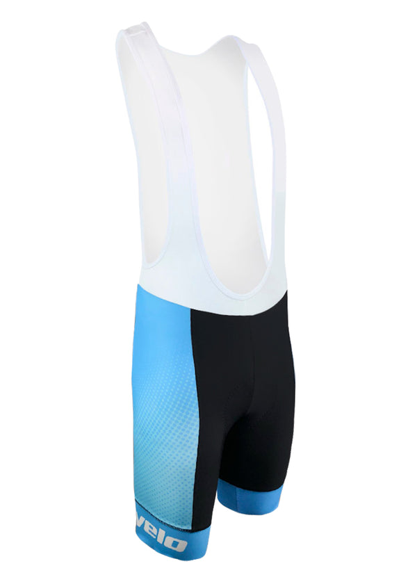 Men's Atlas Blue Team Ringer Bibshorts