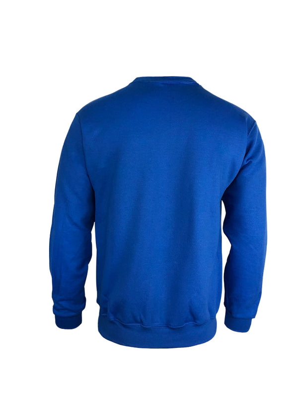 Crest Sweatshirt Royal Blue