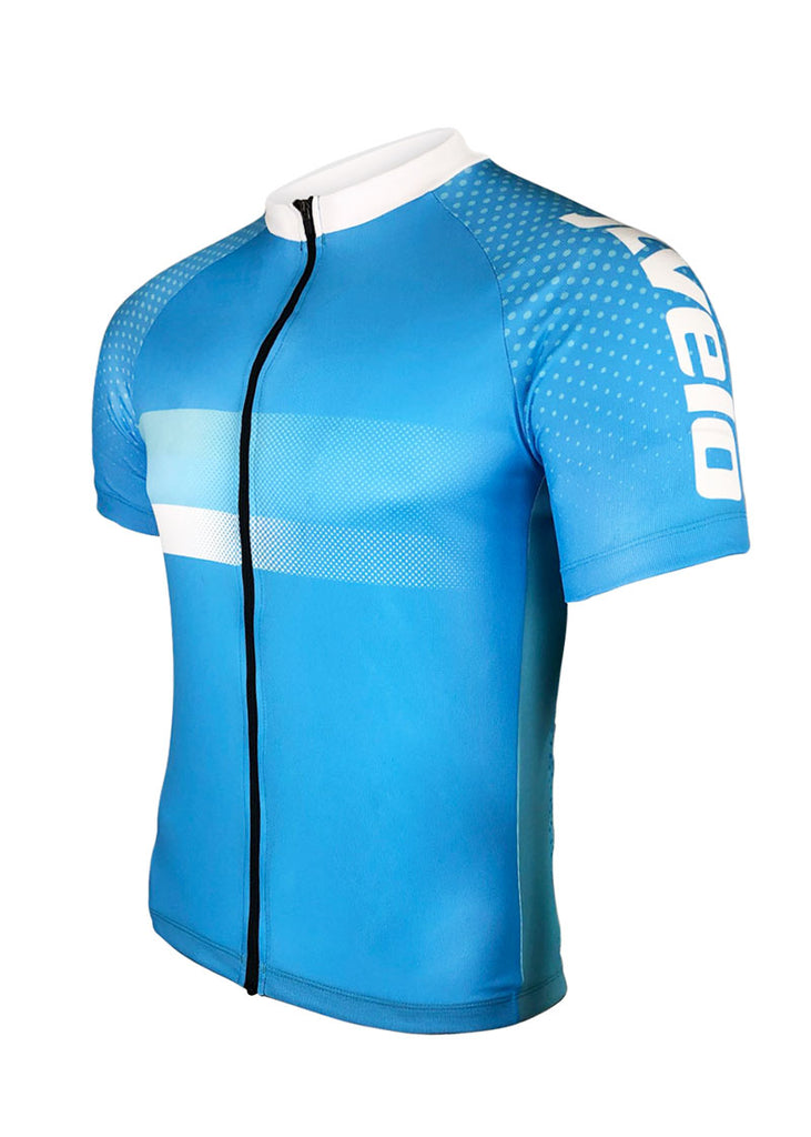 Men's Atlas Blue Team Strip Jersey