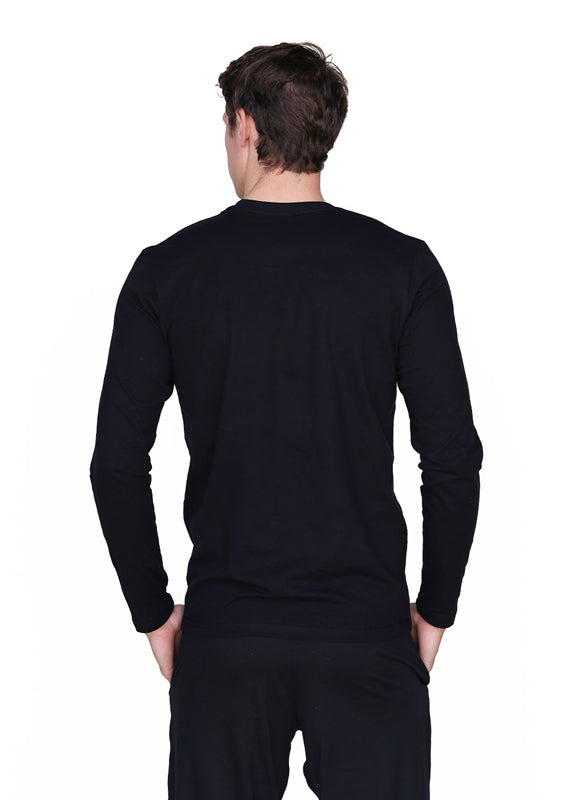 Men's Black Blade Long Sleeve Tee