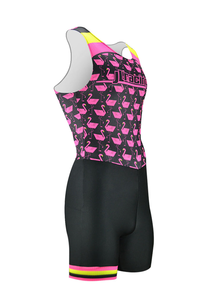 rowing unisuit zootie allinone AIO Men's Flamingo Unisuit JL Racing $50-$100, Men's, Unisuit $69.95 Size XSmall  JLAthletics