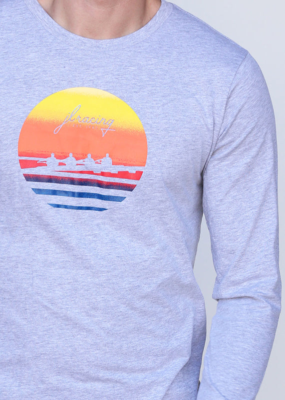 Men's Sunset Long Sleeve Tee