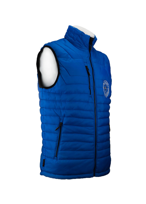 Tech Shirts Technical Shirts Performance Top Performance Tank Workout Top Long Sleeve Short Sleeve Tshirt Men´s Gravity Puffy Vest Blue JL Racing $50-$100, Men's, Outerwear, Tops, Turtleshells + Vests $54.95 Size XSmall  JLAthletics