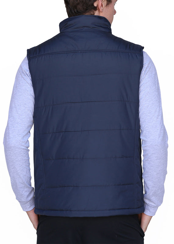 Men's Puffy Vest Grey