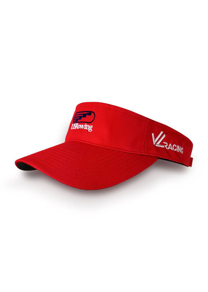USRowing Visor Red