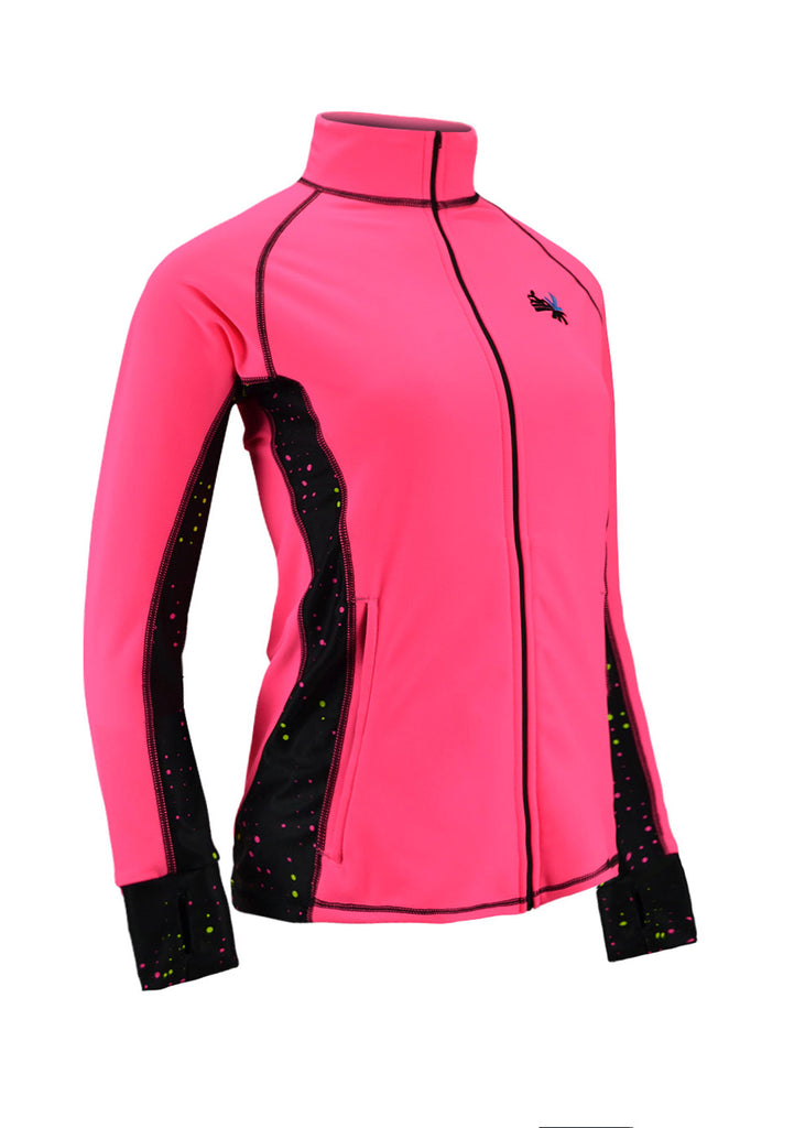 outerwear jackets jacket turtleshell sweatshirt pullover performance quarter zip sequel jacket vest active hoodie pro panel puffy vest fleece launch full zip jacket softshell splash jacket wind breaker regatta jacket podium jacket River Jacket Flo Pink JL Racing $50-$100, Bargain, Long Sleeve, Outerwear, River Jackets, Tops, Women's $69.95 Size XSmall  JLAthletics