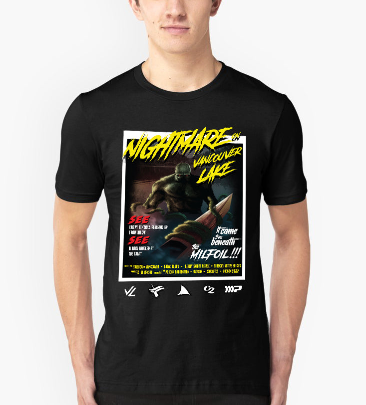 Nightmare On Vancouver Lake Short Sleeve Tee