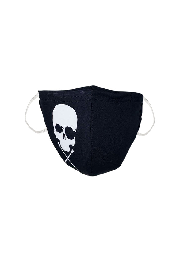 Reusable Skull & Crossed Oars Mask