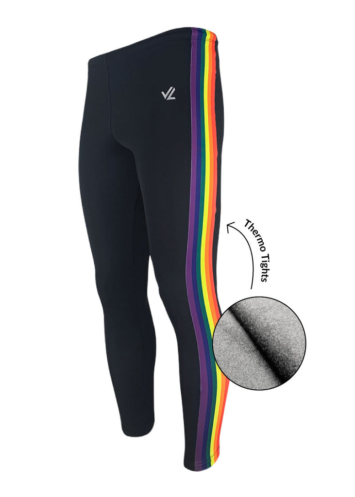 bottoms tights trou workout pant sweats sweatpants shorts capri bibshorts Thermo Pride Tights JL Racing $50-$100, Bottoms, Leggings, Men's, Tights, What's New, Women's $59.00 Size XSmall  JLAthletics