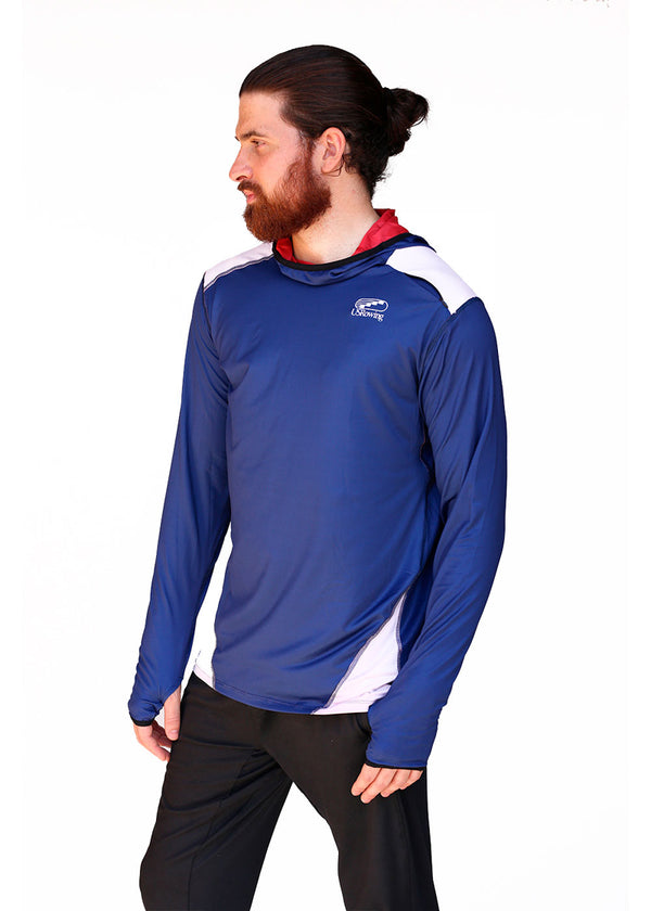 USRowing Men's Lightweight Active Hoodie