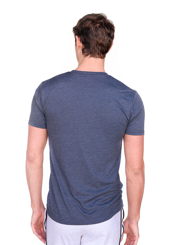 USRowing Men's Short Sleeve Tee Vintage Navy