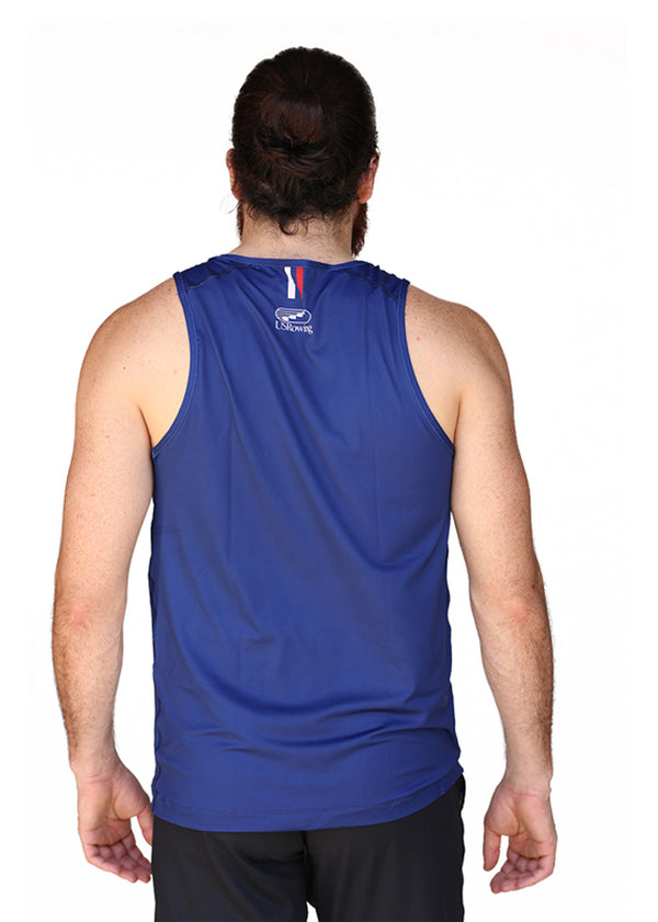 USRowing Men's Performance Tank Stars