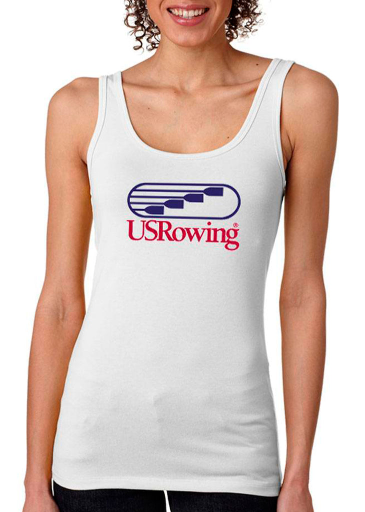 USRowing Women's Tank White