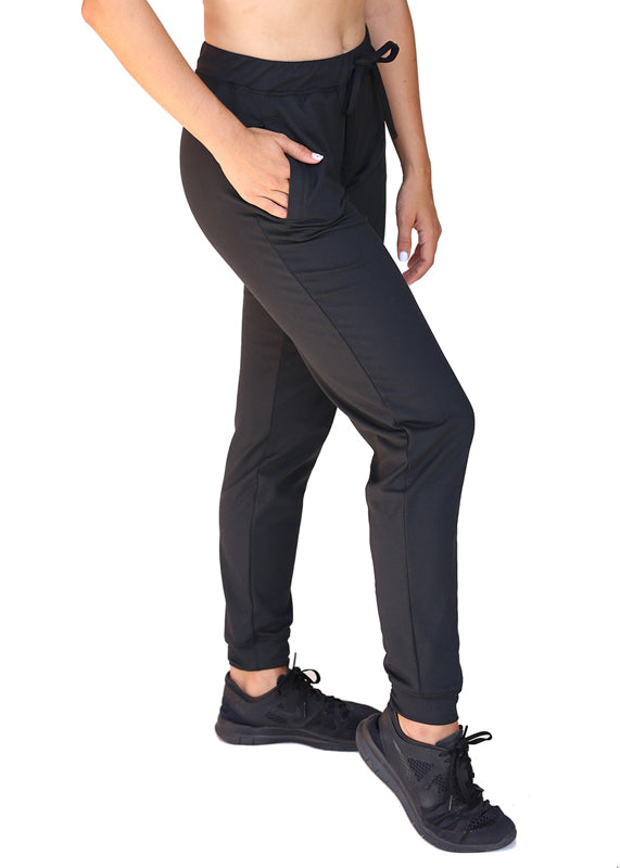 USRowing Women's Luxe Warmup Pants Black