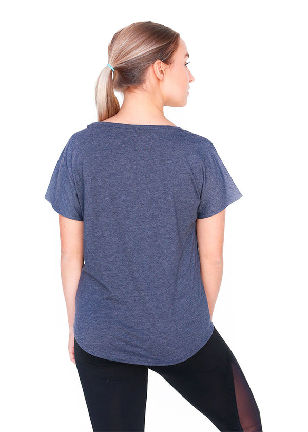 USRowing Women's Short Sleeve Tee Vintage Navy