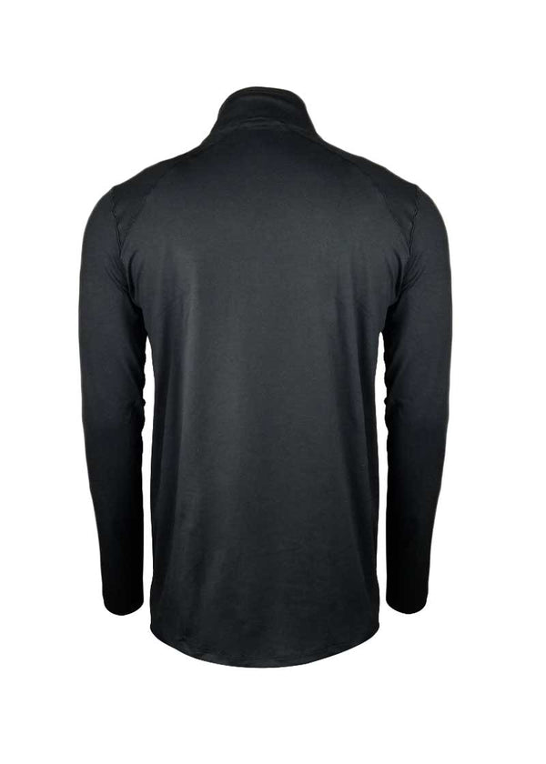 USRowing Men's Crest Quarter-Zip Black