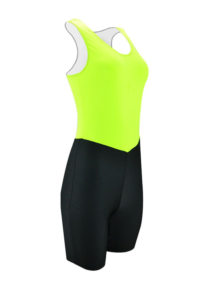 rowing unisuit zootie allinone AIO Women's Unisuit Lime / Black JL Racing $10-$50, Unisuit, Women's $34.95 Size XLarge  JLAthletics