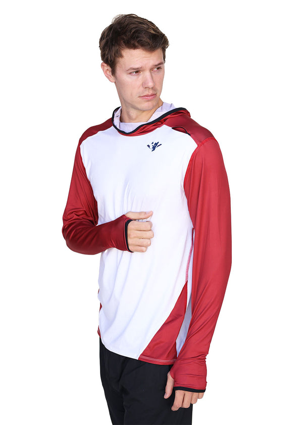 Tech Shirts Technical Shirts Performance Top Performance Tank Workout Top Long Sleeve Short Sleeve Tshirt Wild OarMen's Active Hoodie Grey / Red Wild Oar $50-$100, Bargain, Hoodies + Sweatshirts, Long Sleeve, Men's, Outerwear, Tops $69.00 Size Small  JLAthletics