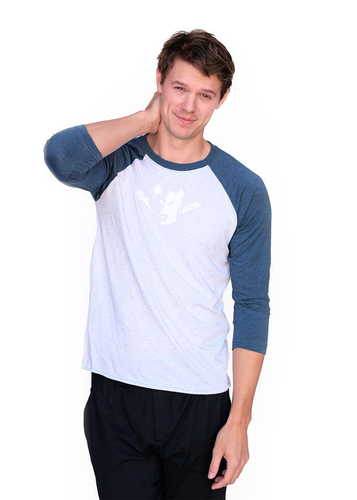 Wild Oar Logo Men's Raglan Top