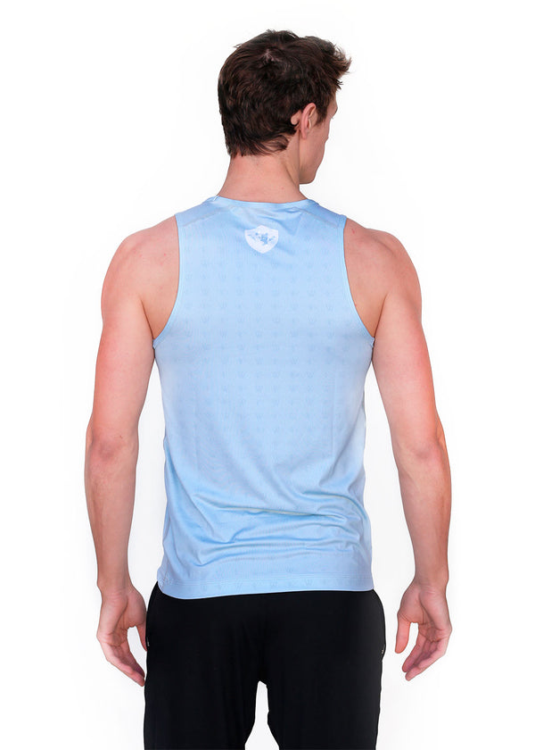 Wild Oar Men's Performance Tank Gray