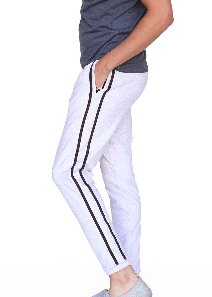 bottoms tights trou workout pant sweats sweatpants shorts capri bibshorts Wild Oar Men's Stripe Sweats Wild Oar $50-$100, Bottoms, Men's, Sweatpants, Sweats, Wild Oar $44.95 Size S  JLAthletics