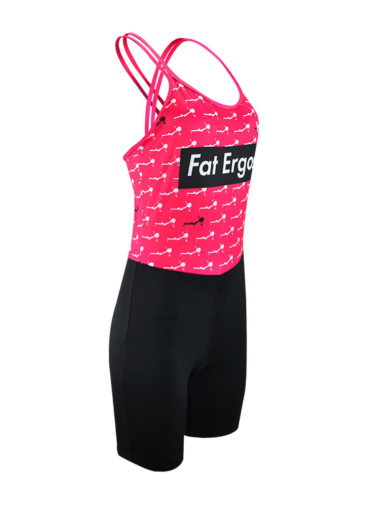 Fat Ergos Women's Tangled Unisuit Pink