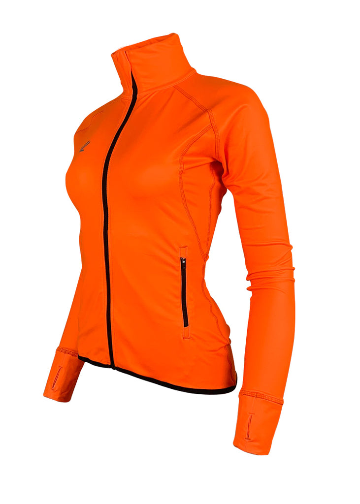 Women's Scallop Jacket Hi-Viz Orange