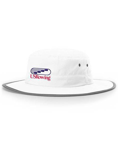 USRowing Bucket Hat White