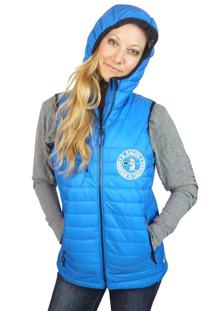 Women's Gravity Puffy Vest Blue