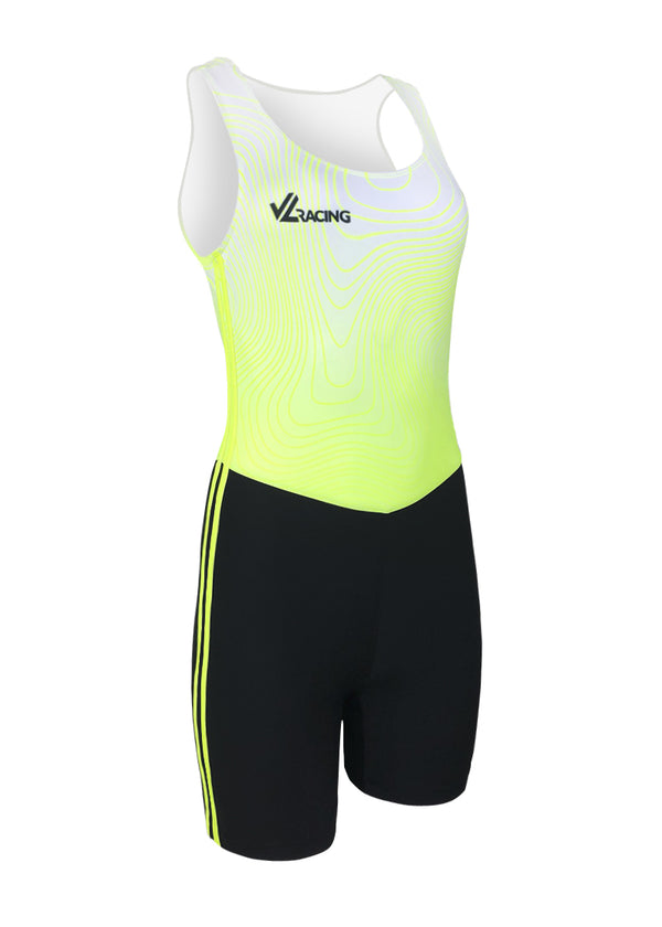 rowing unisuit zootie allinone AIO Women's Hi-Viz Topography Unisuit JLAthletics $50-$100, Hi-Viz Gear, Unisuit, What's New, Women's $79.00 Size XSmall  JLAthletics
