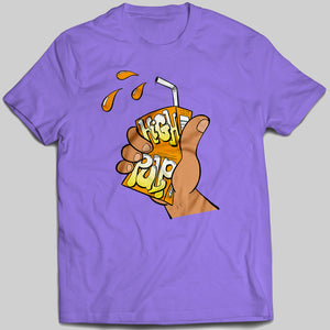 Short Sleeve T-shirt - Classic Juice Box Design