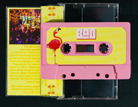 """Bad Juice"" on Cassette Tape"