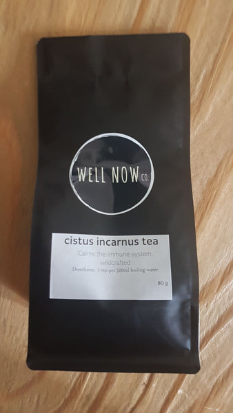 Cistus Incarnus Tea (wildcrafted)