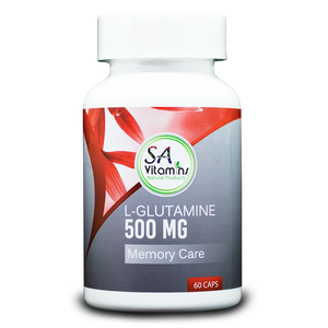 L-Glutamine 500ml 60 Capsules
