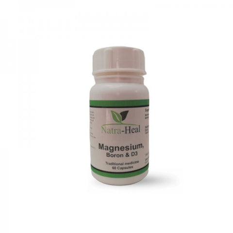 Magnesium, Boron and Vitamin D3 60 capsules
