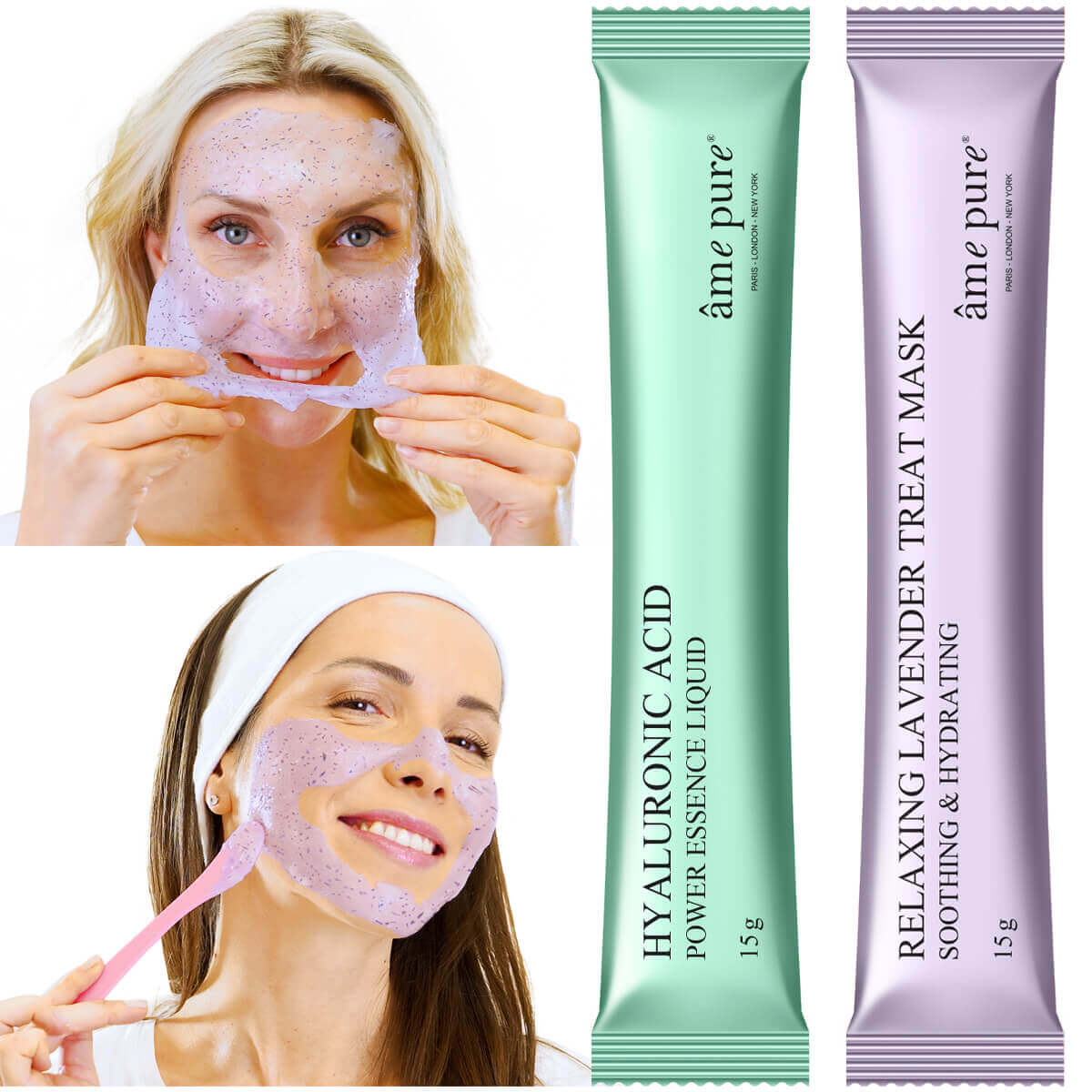 Jelly Glow Rubber Mask™ - Lavender