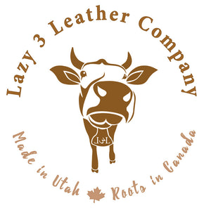 Lazy 3 Leather Company Made in Utah with Roots in Canada
