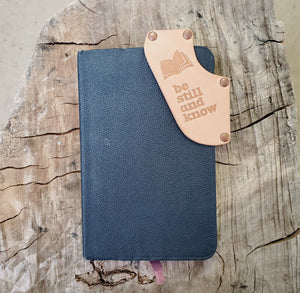 No.1 | Leather Corner Bookmark