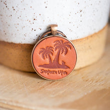 Load image into Gallery viewer, Southern Utah Palm Tree Keychain