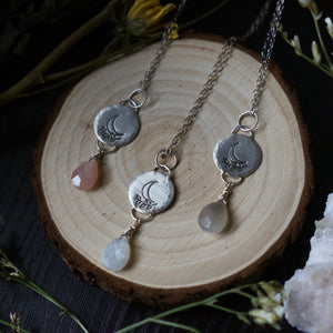 Delicate Luna Necklace