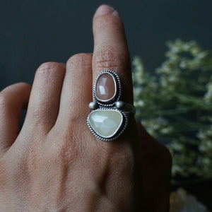 Lunar Twin Ring - Size 6