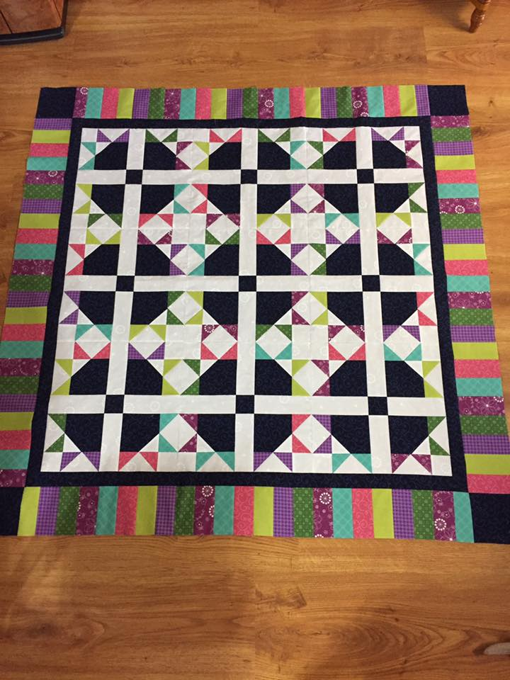 Turkey Tracks Quilt Pattern