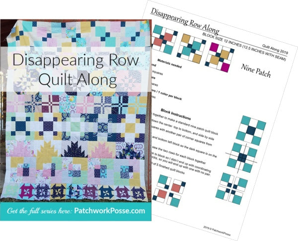 Disappearing Quilt Blocks ebook & QAL