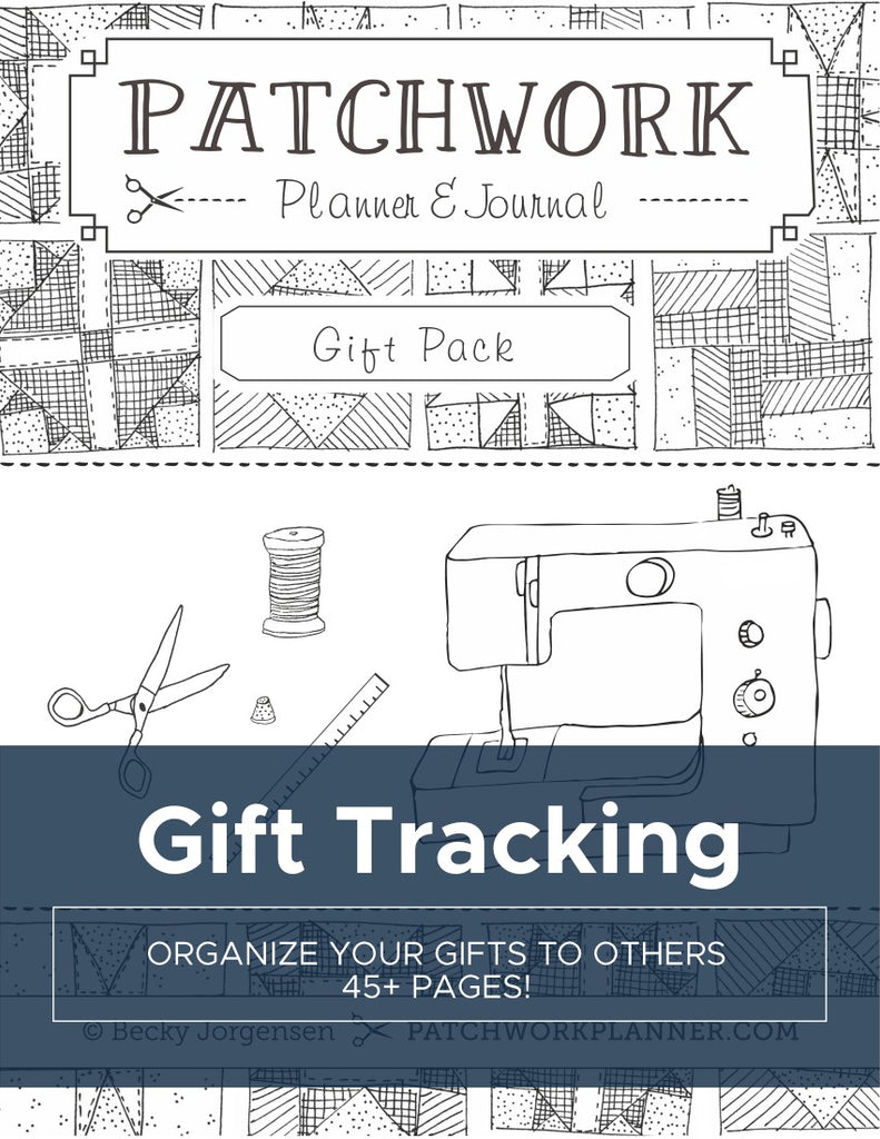 Gift Tracking Binder {45 pages}