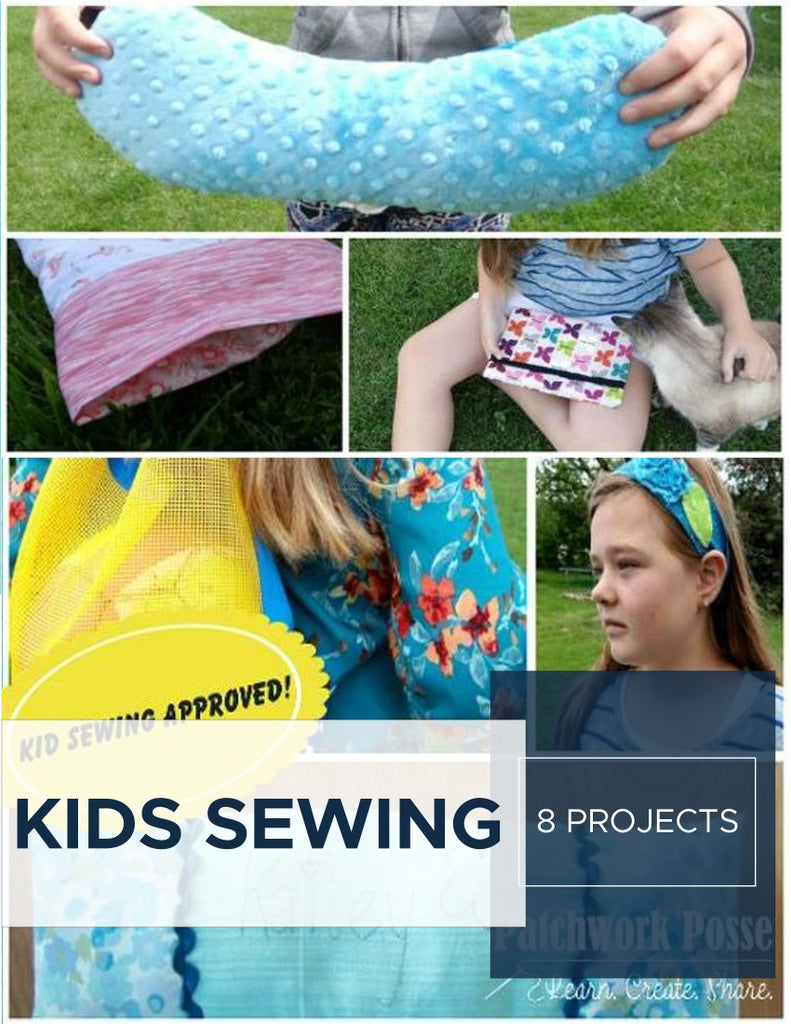 8 Projects for Teaching Kids to Sew