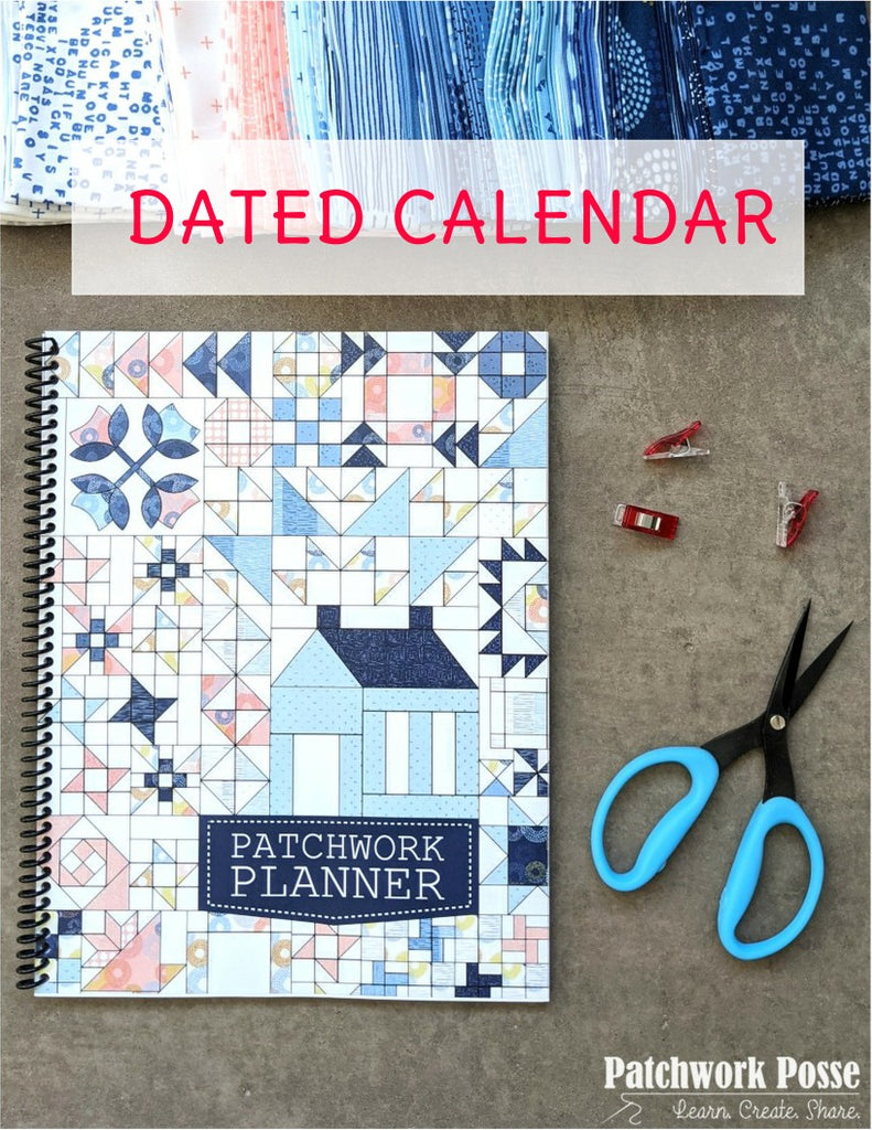 the Patchwork Planner - 2021 Calendar