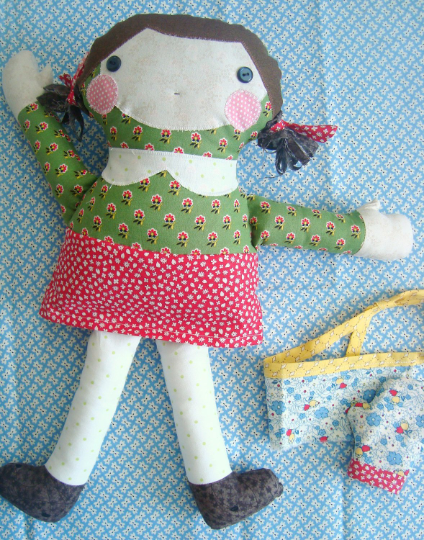 Betty Cooker Doll Pattern