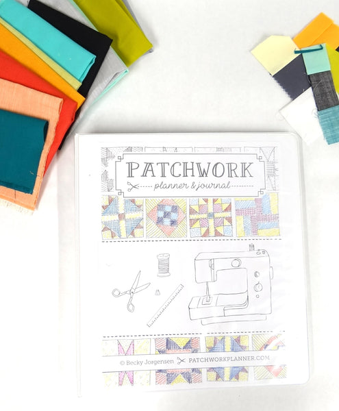 Patchwork Planner & Journal Binder {39 pages}